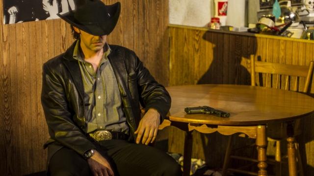 Matthew Edison as Killer Joe Cooper. Photo by Matt Campagna.